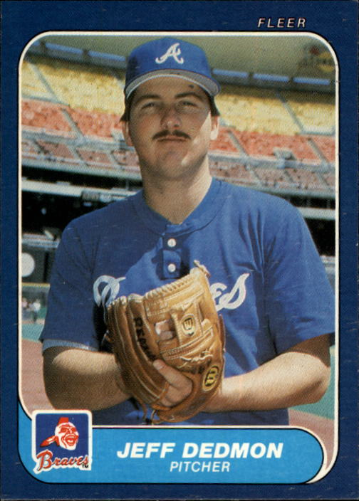 1986 Fleer #513 Jeff Dedmon