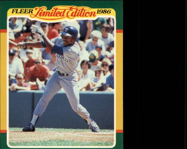 1986 Fleer Limited Edition #28 Oddibe McDowell