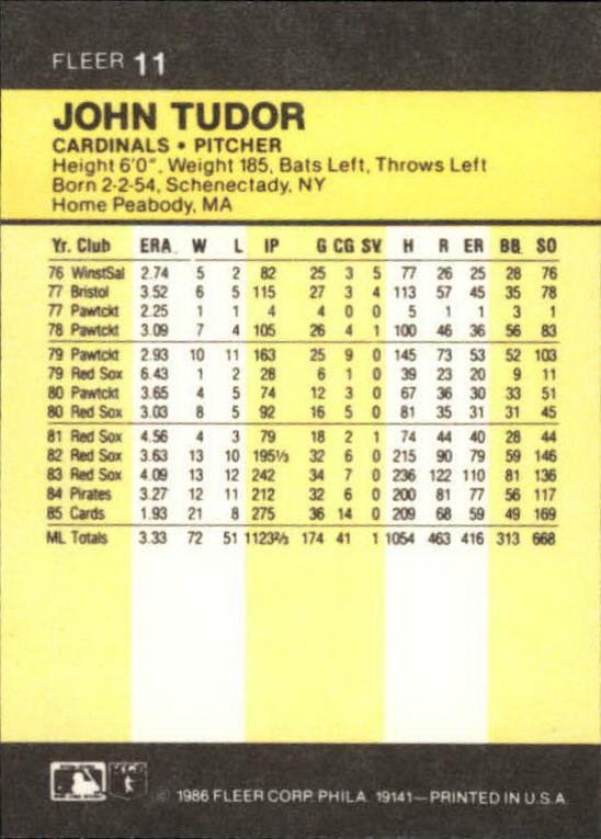 1986-Mini-Baseball-1-120-Your-Choice-GOTBASEBALLCARDS thumbnail 23