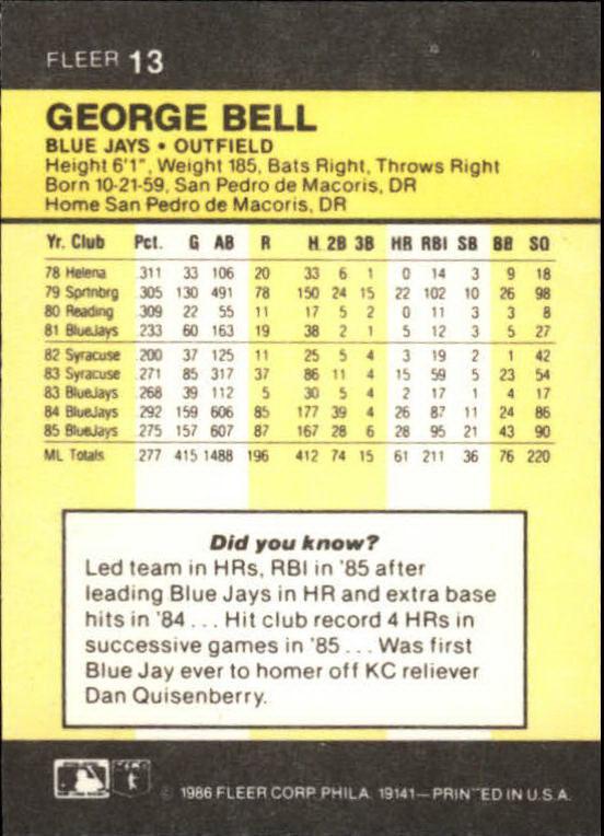 1986-Mini-Baseball-1-120-Your-Choice-GOTBASEBALLCARDS thumbnail 27
