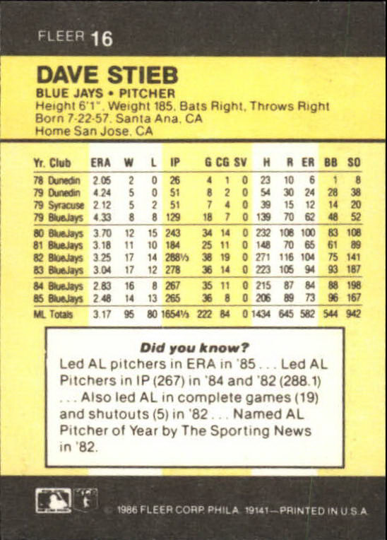 1986-Mini-Baseball-1-120-Your-Choice-GOTBASEBALLCARDS thumbnail 33