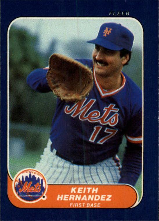1986 Fleer Mini #20 Keith Hernandez