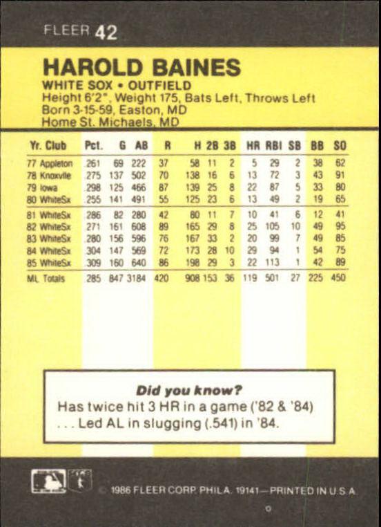 1986-Mini-Baseball-1-120-Your-Choice-GOTBASEBALLCARDS thumbnail 75