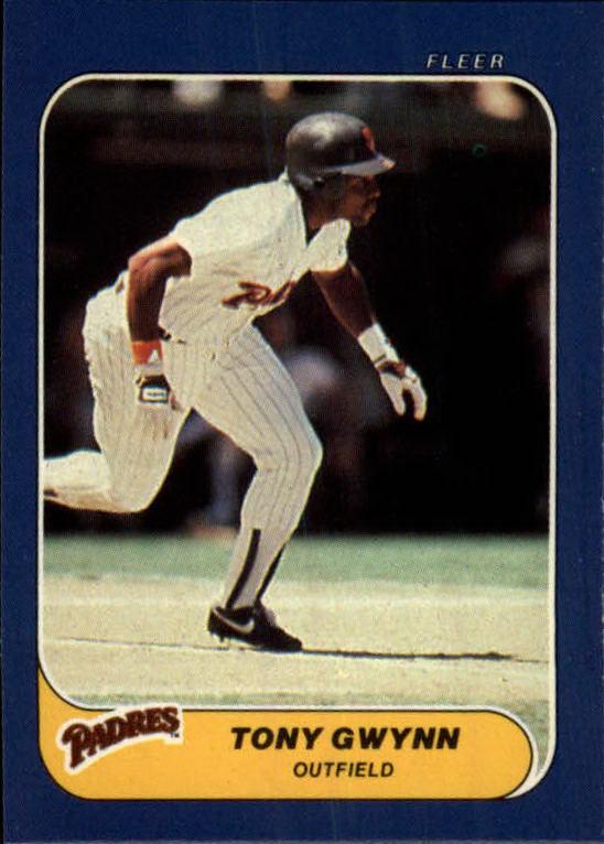 1986 Fleer Mini #69 Tony Gwynn