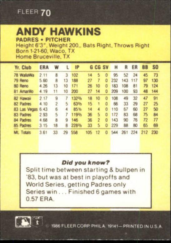 1986-Mini-Baseball-1-120-Your-Choice-GOTBASEBALLCARDS thumbnail 119