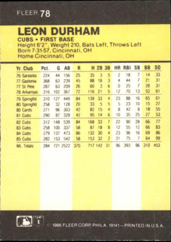 1986-Mini-Baseball-1-120-Your-Choice-GOTBASEBALLCARDS thumbnail 123