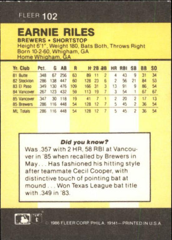 1986-Mini-Baseball-1-120-Your-Choice-GOTBASEBALLCARDS thumbnail 161