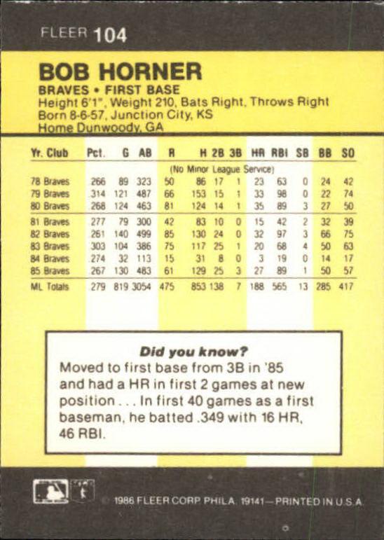 1986-Mini-Baseball-1-120-Your-Choice-GOTBASEBALLCARDS thumbnail 165