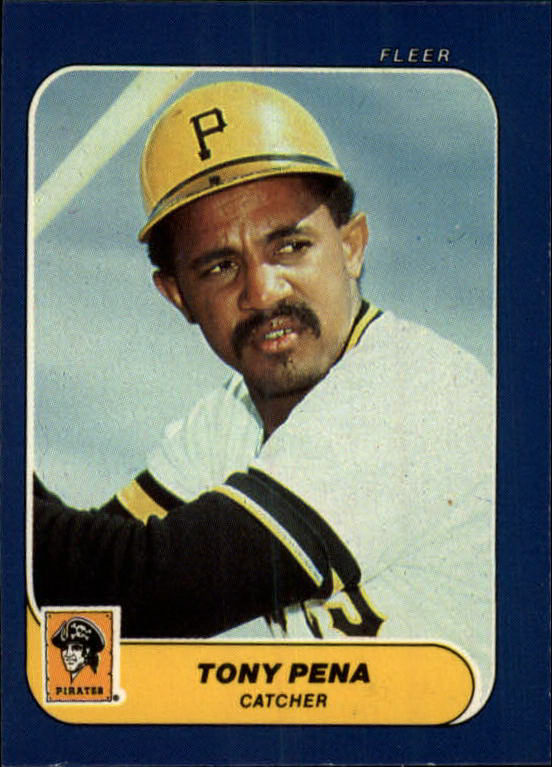 1986 Fleer Mini #119 Tony Pena