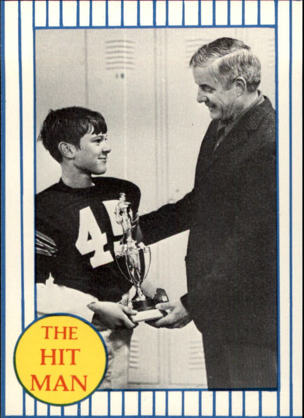1986 Galasso Mattingly #10 Don Mattingly/In Football Uniform