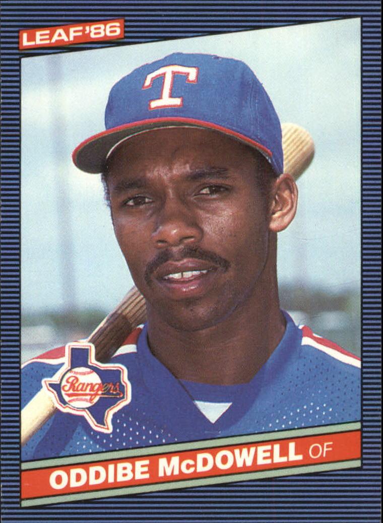 1986 Leaf/Donruss #46 Oddibe McDowell