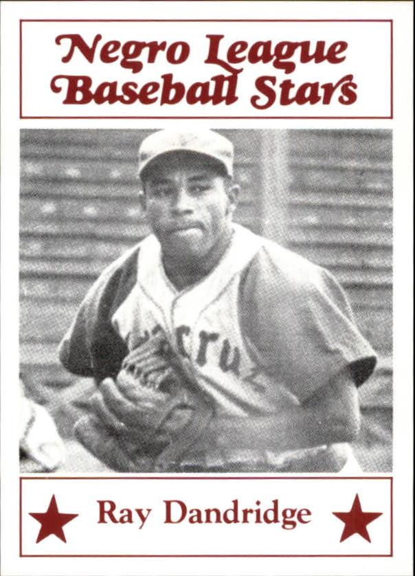1986 Negro League Fritsch #7 Ray Dandridge