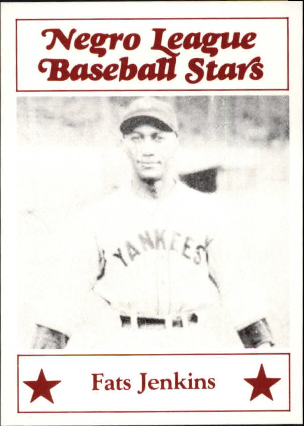 1986 Negro League Fritsch #113 Fats Jenkins