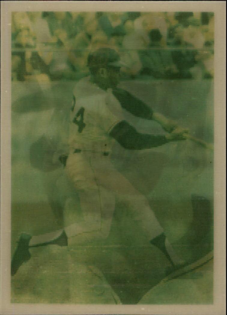 1986 Sportflics Decade Greats #50 Willie Mays