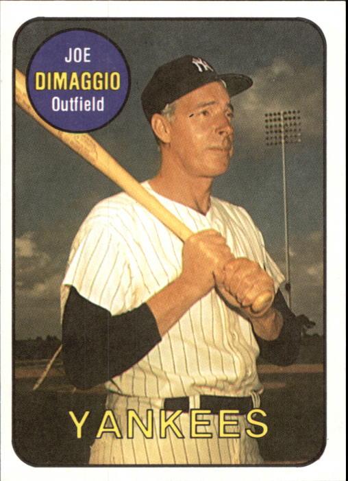 1986 Sports Design J.D. McCarthy #11 Joe DiMaggio