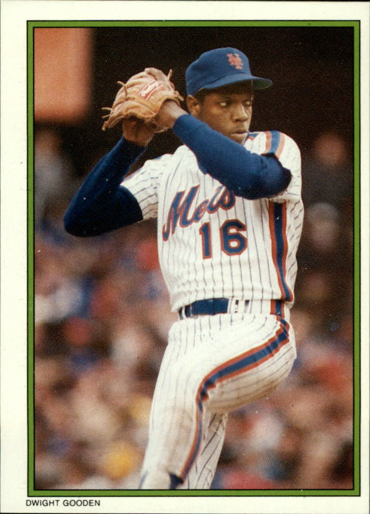 1986 Topps Glossy Send-Ins #41 Dwight Gooden
