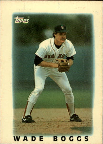 1986 Topps Mini Leaders #3 Wade Boggs