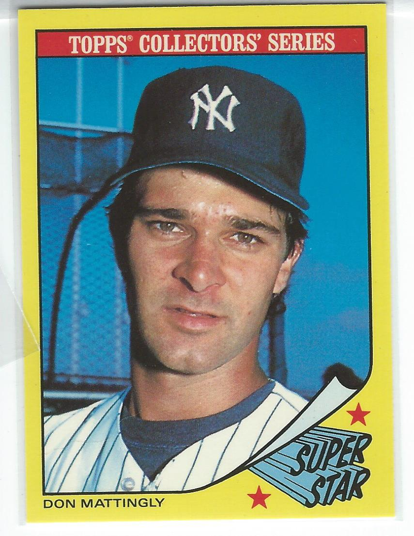 1986 Woolworth's Topps #20 Don Mattingly