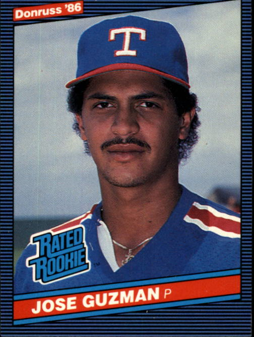 1986 Donruss #30 Jose Guzman RC