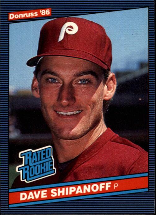 1986 Donruss #34 Dave Shipanoff RC