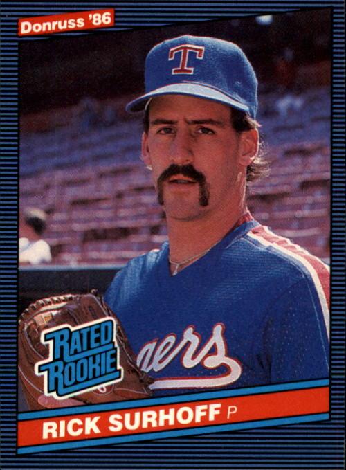 1986 Donruss #42 Rick Surhoff RC