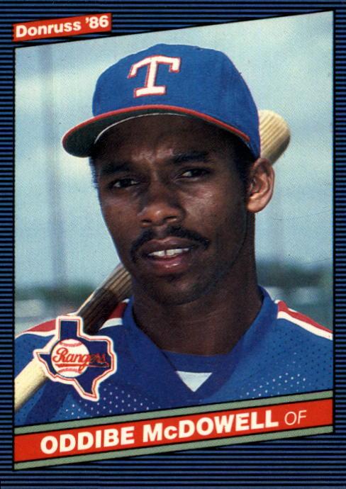 1986 Donruss #56 Oddibe McDowell