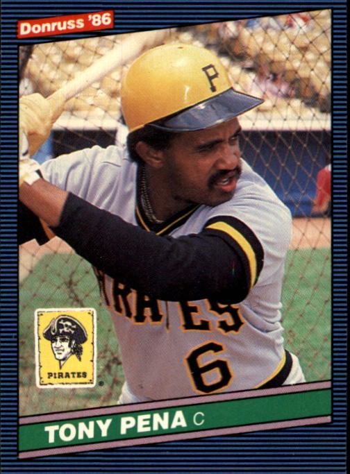 1986 Donruss #64 Tony Pena