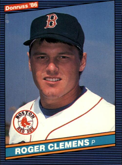 1986 Donruss #172 Roger Clemens