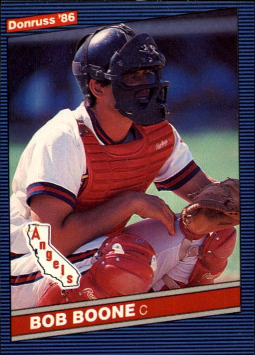 1986 Donruss #230 Bob Boone