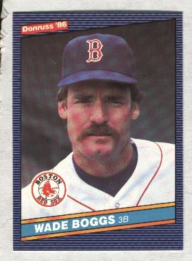 1986 Donruss #371 Wade Boggs