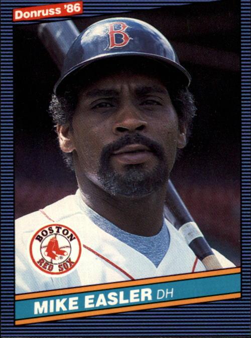 1986 Donruss #395 Mike Easler