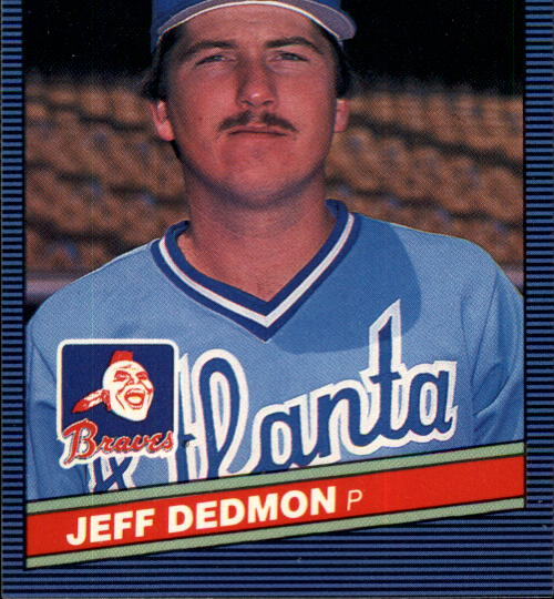 1986 Donruss #443 Jeff Dedmon