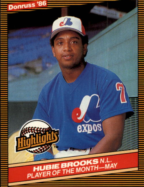 1986 Donruss Highlights #15 Hubie Brooks