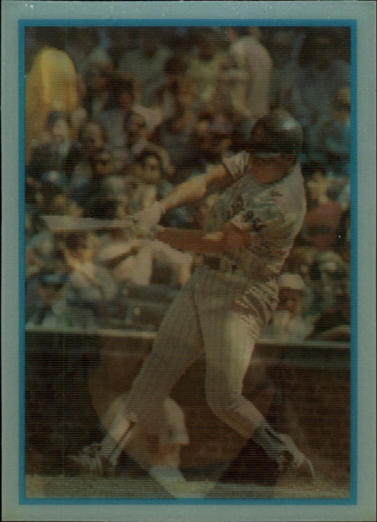 1986 Sportflics Rookies #1 John Kruk