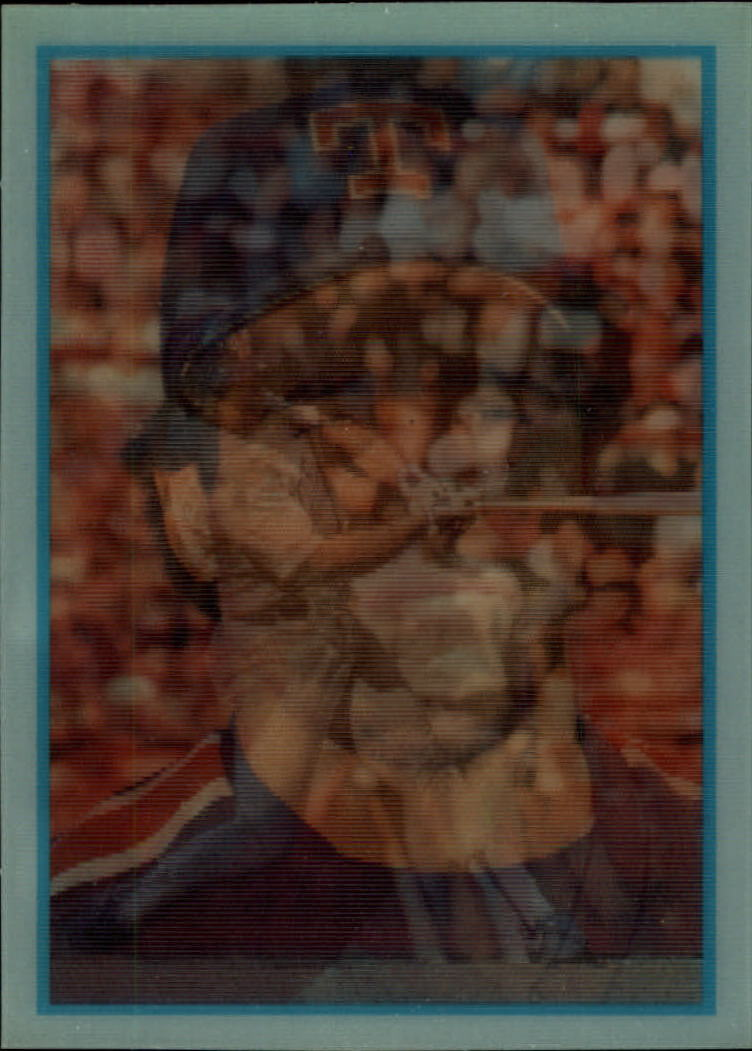 1986 Sportflics Rookies #3 Pete Incaviglia