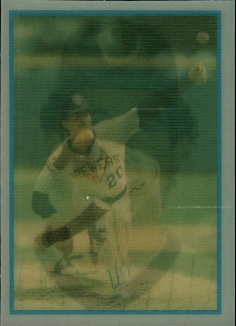 1986 Sportflics Rookies #5 Juan Nieves