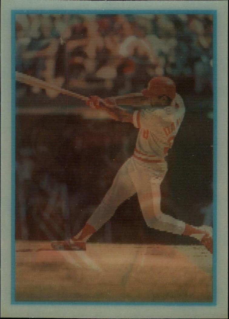 1986 Sportflics Rookies #43 Kal Daniels