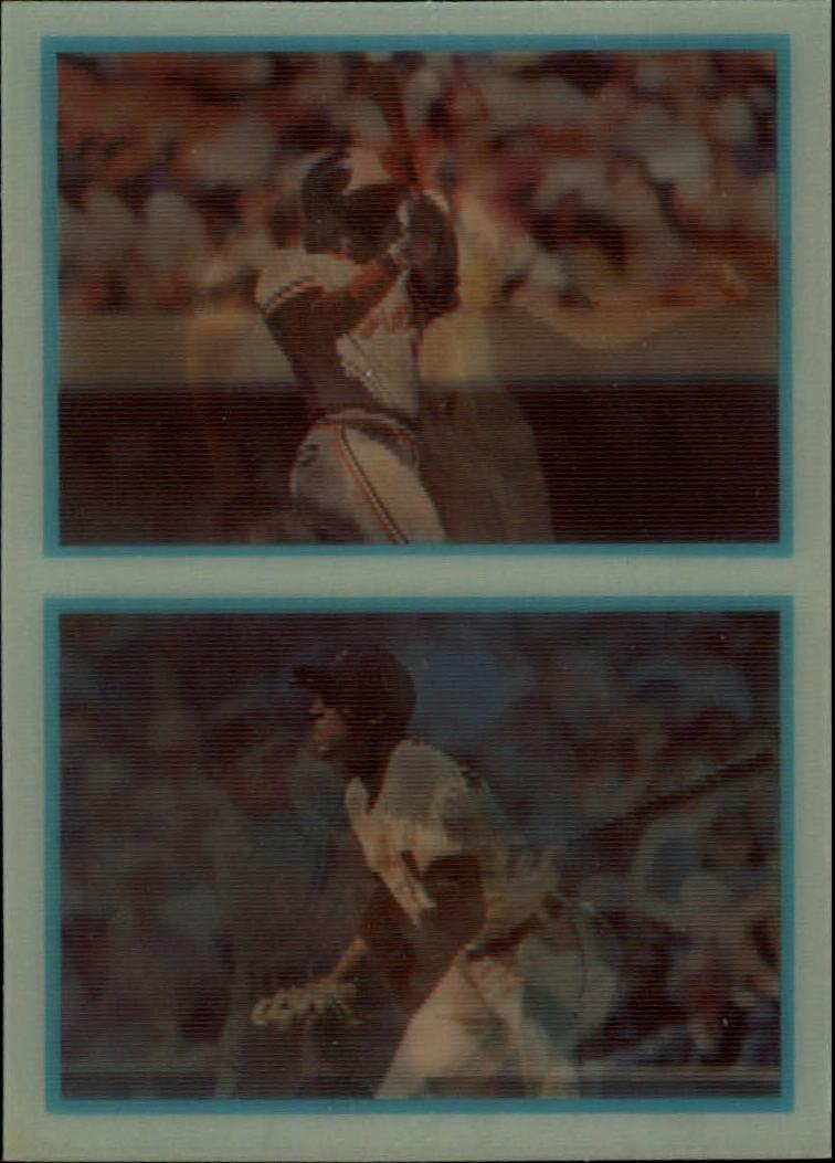 1986 Sportflics Rookies #48 Big Six Cal Ripken