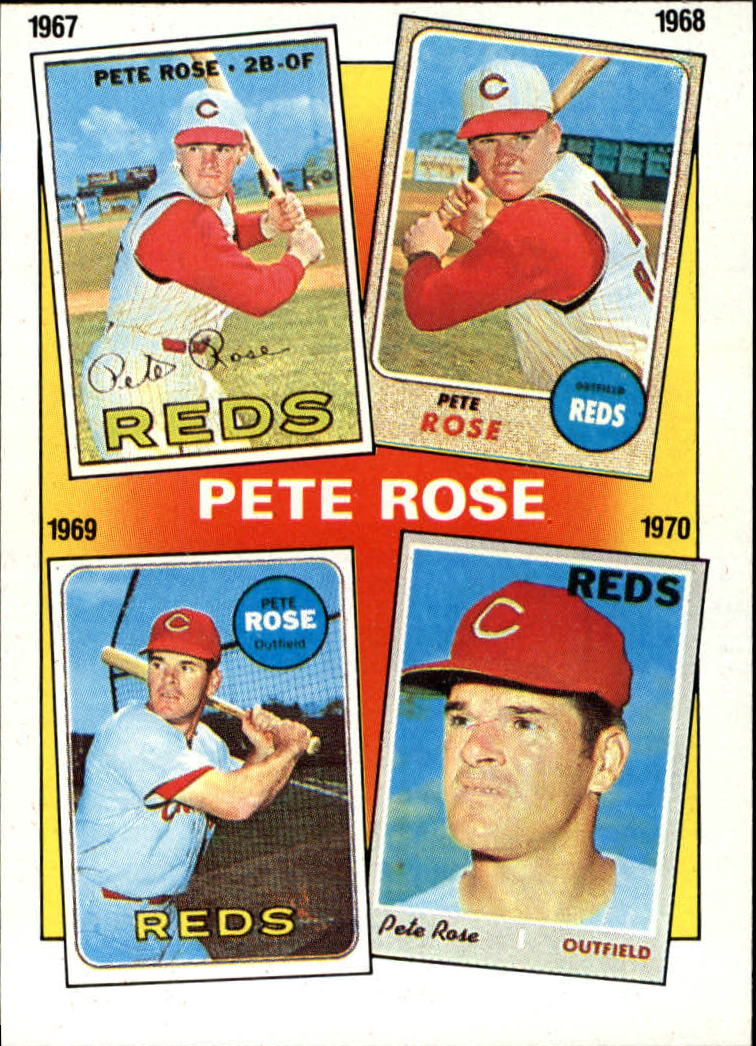 1986 Topps #3 Rose Special: '67-'70