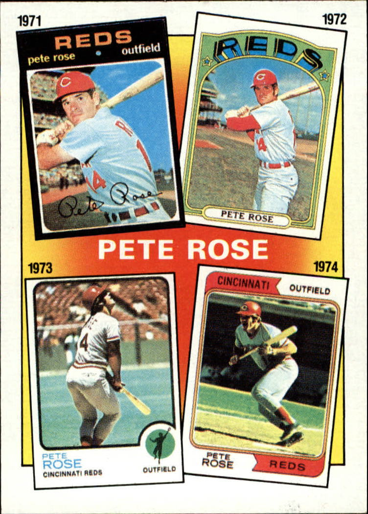 1986 Topps #4 Rose Special: '71-'74