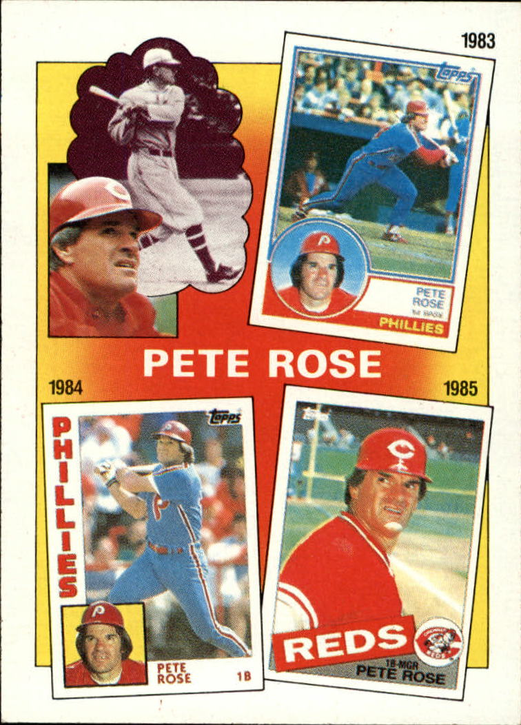 1986 Topps #7 Rose Special: '83-'85