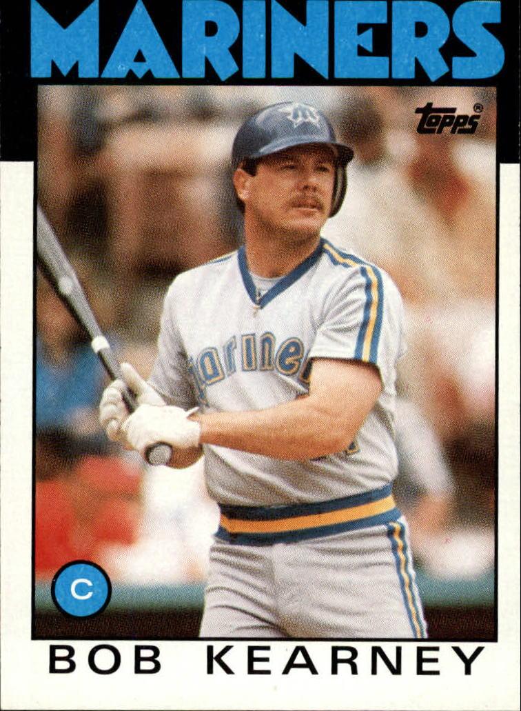 1986 Topps #13 Bob Kearney
