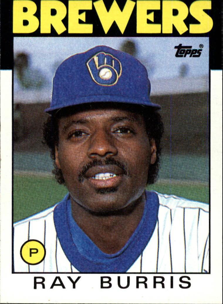 1986 Topps #106 Ray Burris