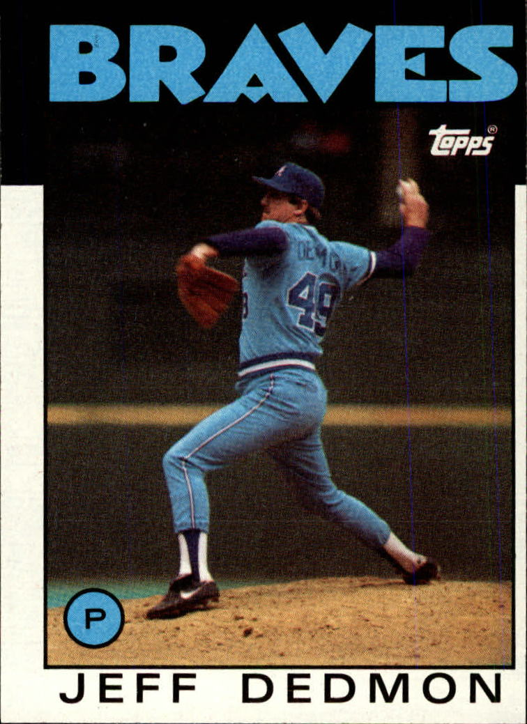 1986 Topps #129 Jeff Dedmon