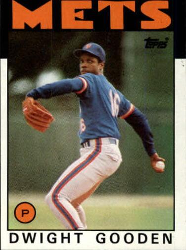 1986 Topps #250 Dwight Gooden