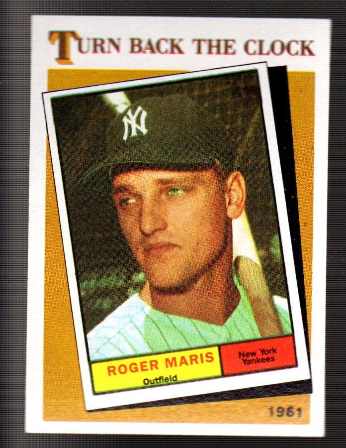 1986 Topps #405 Roger Maris TBC