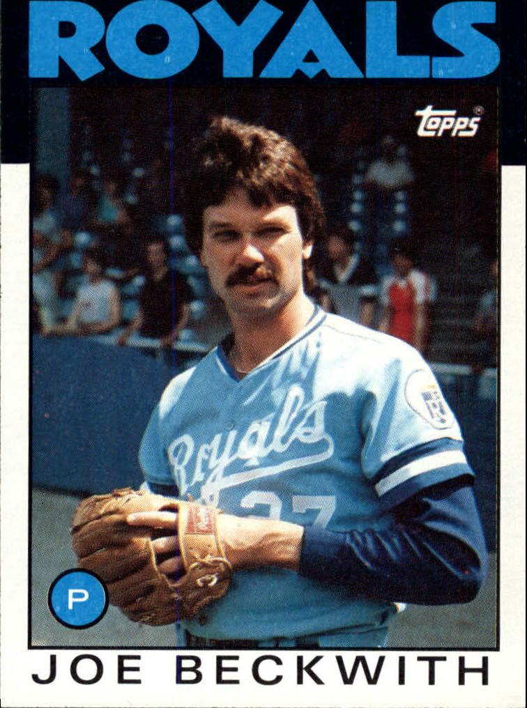 1986 Topps #562 Joe Beckwith