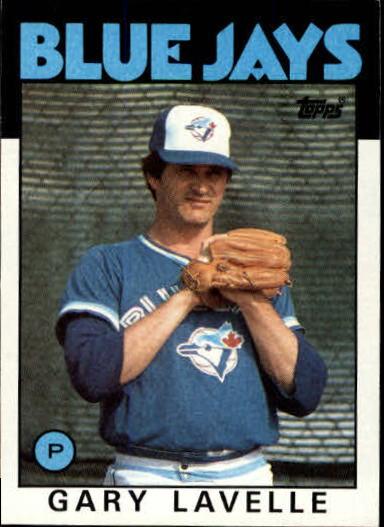 1986 Topps #622 Gary Lavelle
