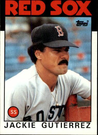 1986 Topps #633 Jackie Gutierrez