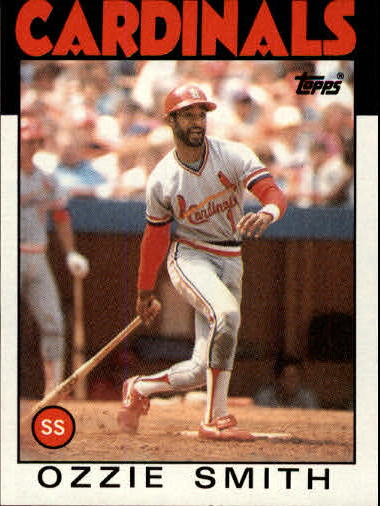 1986 Topps #730 Ozzie Smith